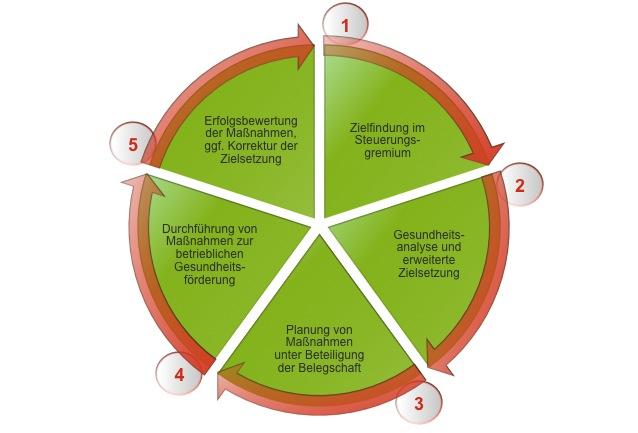 BGM Prozessmodell Überblick